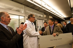 Governor Jay Inslee visited campus