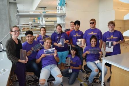 , Early Engineering Institute 9th and 10th Graders Study Solar Power