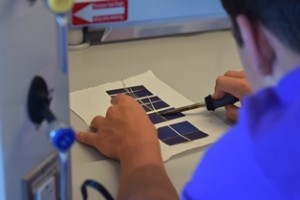 , Early Engineers Build Solar Panels at the CEI