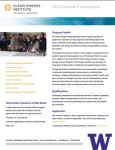 Grad Fellowship Flyer