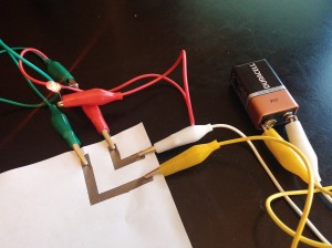 Draw a circuit with Grahite