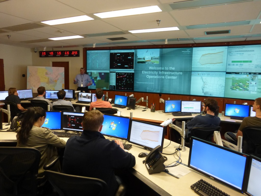 Grid control training center at PNNL Labs
