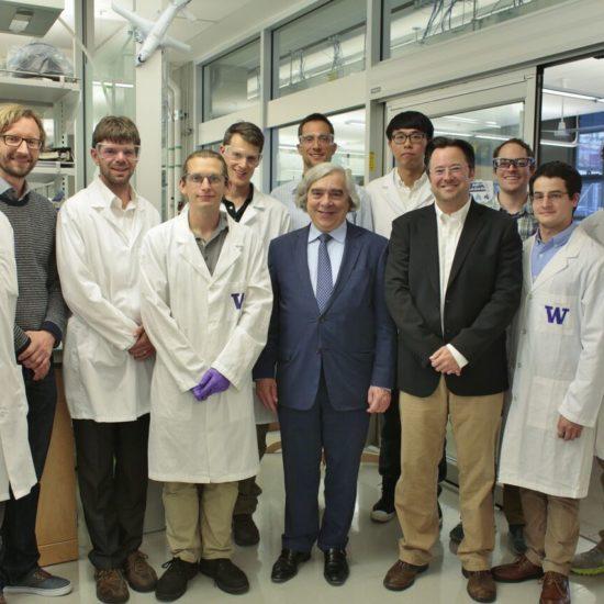 , U.S. Secretary of Energy visits Hillhouse laboratory