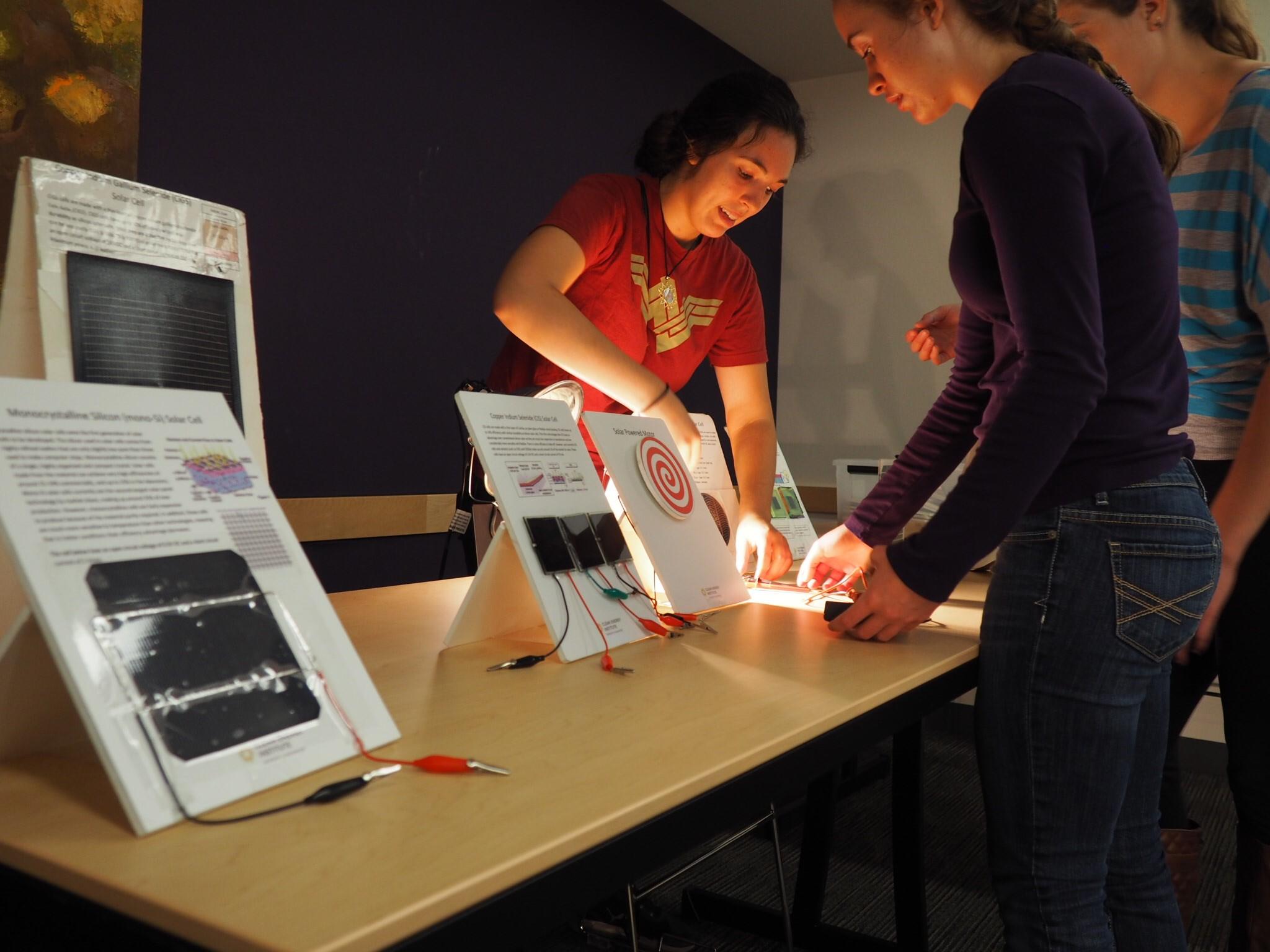 , Photonics Fair for Girls