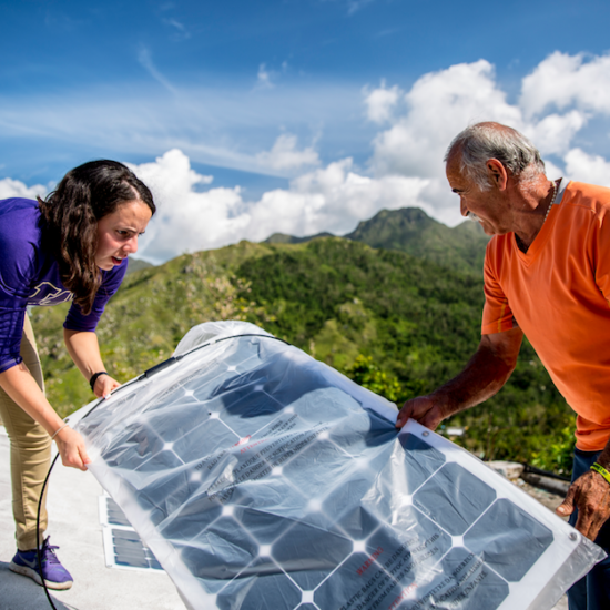 , Clean energy solutions for public health in Puerto Rico