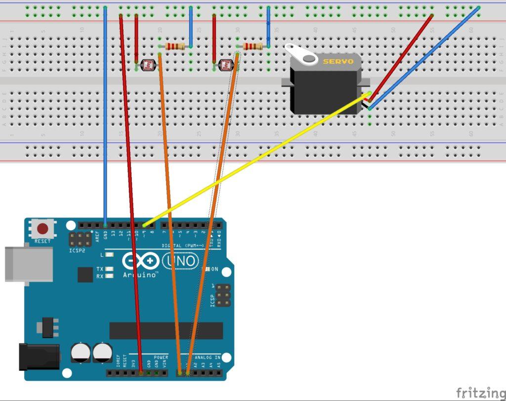 , Solar Tracker Arduino Project
