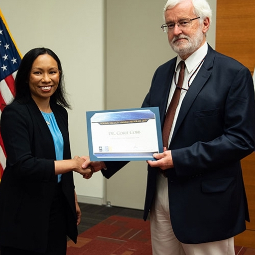 , Corie Cobb receives DARPA Young Faculty Award
