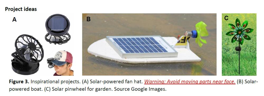 , Solar Fan STEM Kit Challenge